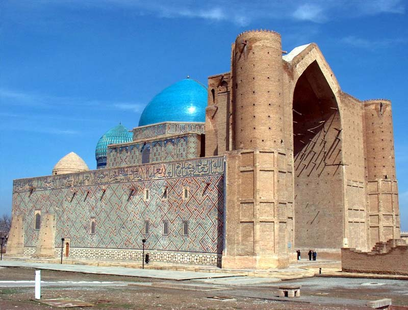 Mausoleo de Khoja Ahmad Yasavi - Kazajistan